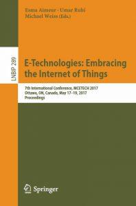 Springer LNBIP Book for MCETECH 2017